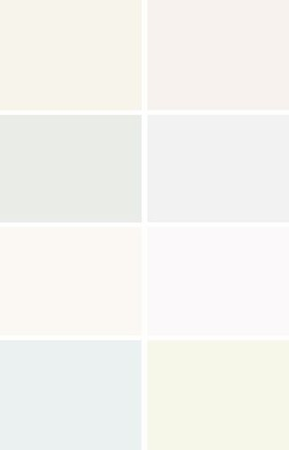 Options for shades of white and neutral paints for farmhouse backdrop